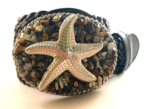 Starfish on Earth Tone Jasper Stone