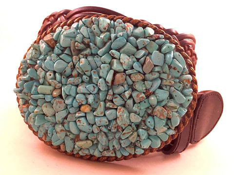 Gemstone Turquoise Large Buckle