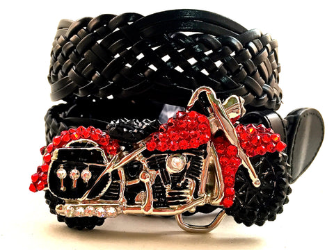 Motorcycle Buckle Red