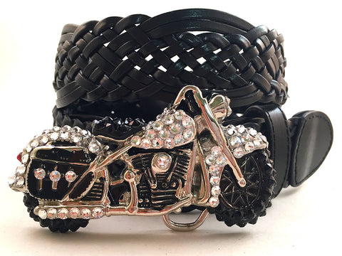 Motorcycle Buckle Clear