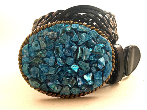 Blue Shell Buckle