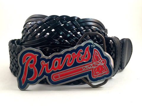 Atlanta Braves Buckle and Belt