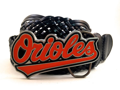 Baltimore Orioles Buckle and Belt
