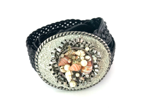 C-Beachy Shell and Sand Buckle