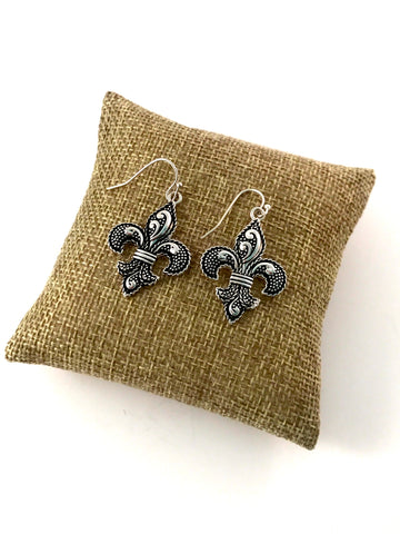 Earrings Fleur de Lis
