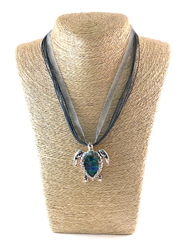 Necklace Abalone Turtle