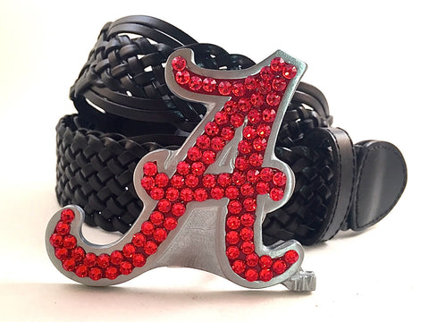 University of Alabama Swarovski Crystal Buckle and Belt