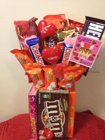 Valentine's Candy Bouquet