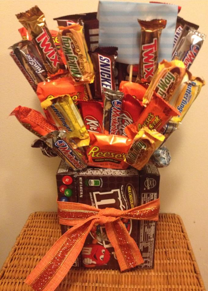 Mixed Box Candy Bouquet