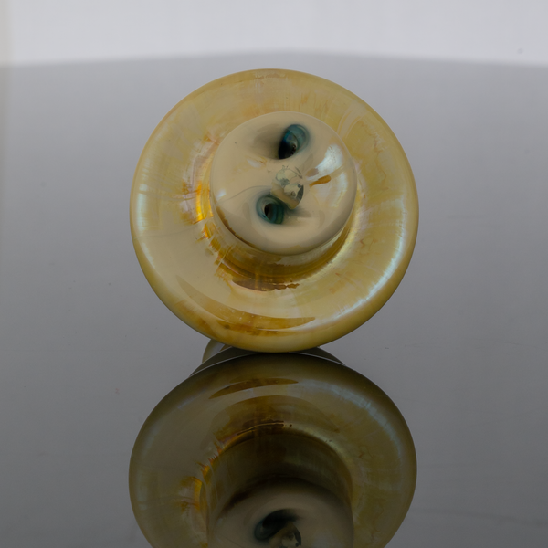 Blob Glass Spinner Cap - Blue Moon