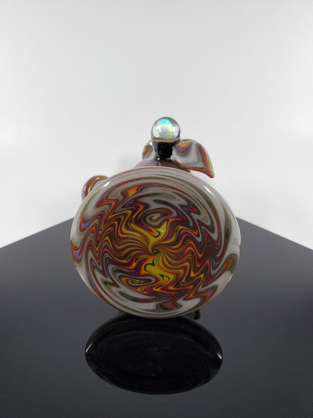A.H Glass Mini Tube - Yellow & Red