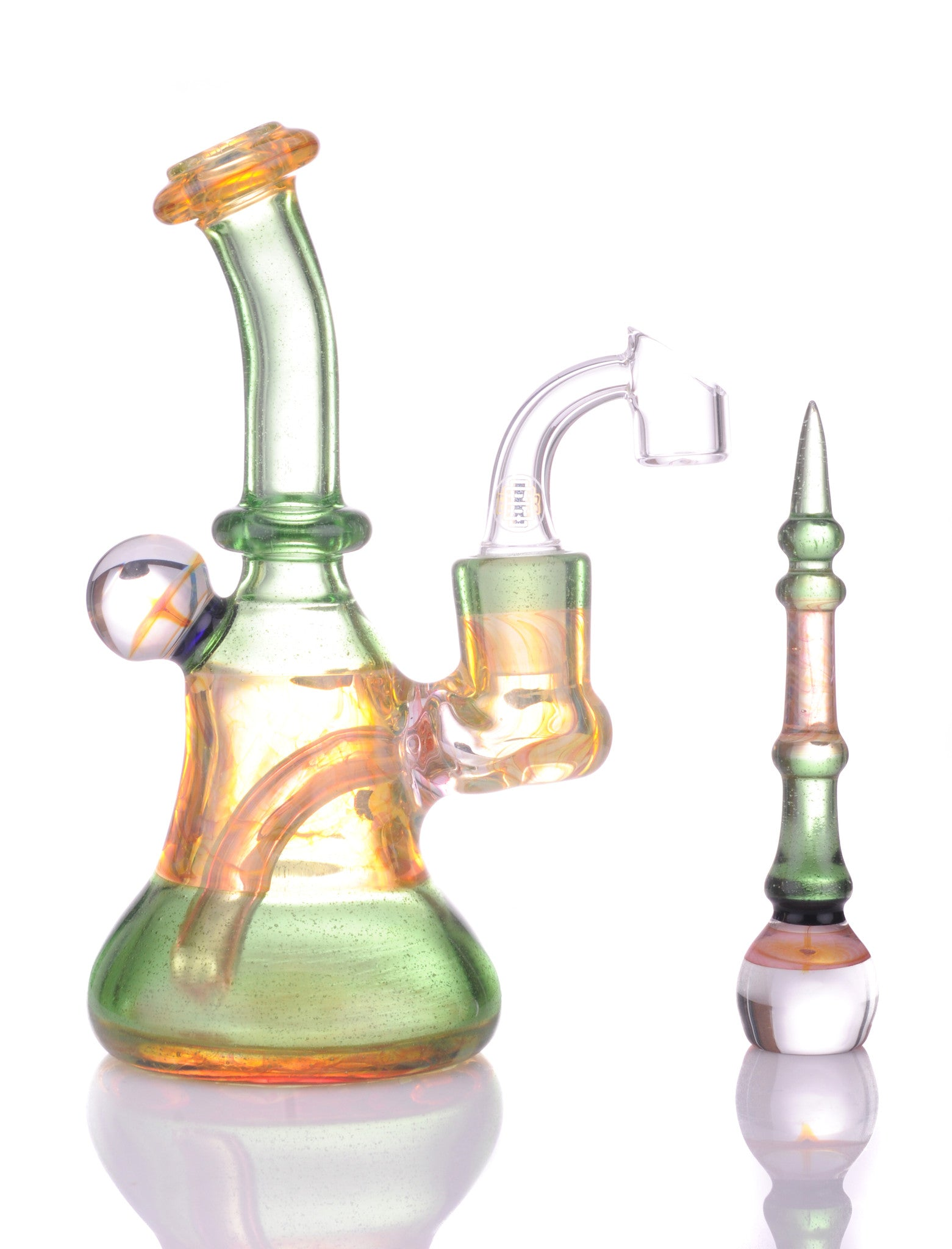 Royal banger hanger - Headdy Glass
