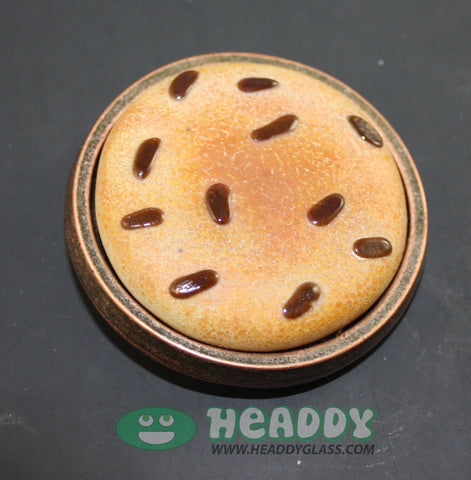 Rob Morrison cookie buckle - Headdy Glass