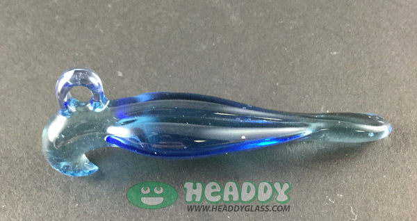 Bishop falcon pendant - Headdy Glass