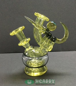 Skar Glass radicalizer minitube - Headdy Glass
