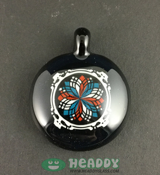 Bo Howe micro quad pendant - Headdy Glass