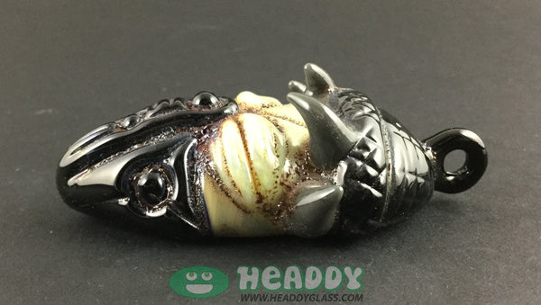 Creep pendant - Headdy Glass