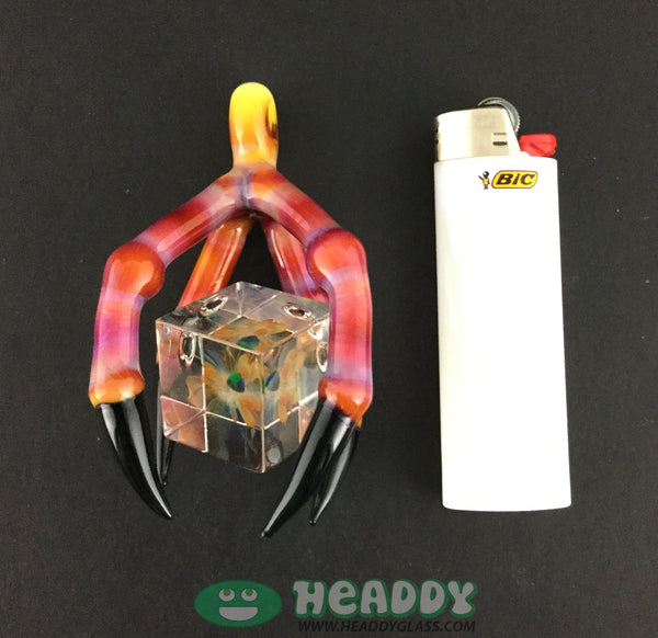 Burtoni/Hefe pendant - Headdy Glass