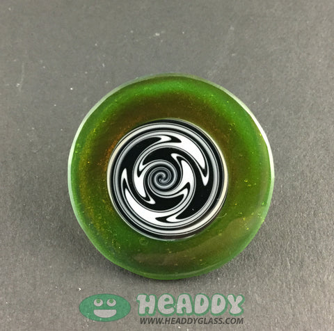 Bearclaw hat pin - Headdy Glass