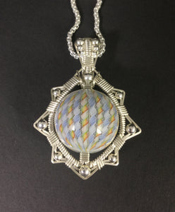 Jason Burruss/Harold Cooney pendant - Headdy Glass