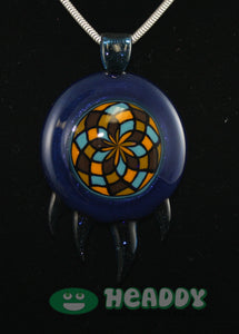 Bearclaw filla pendant #3 - Headdy Glass