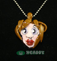Grimm 3D pendant #3 - Headdy Glass