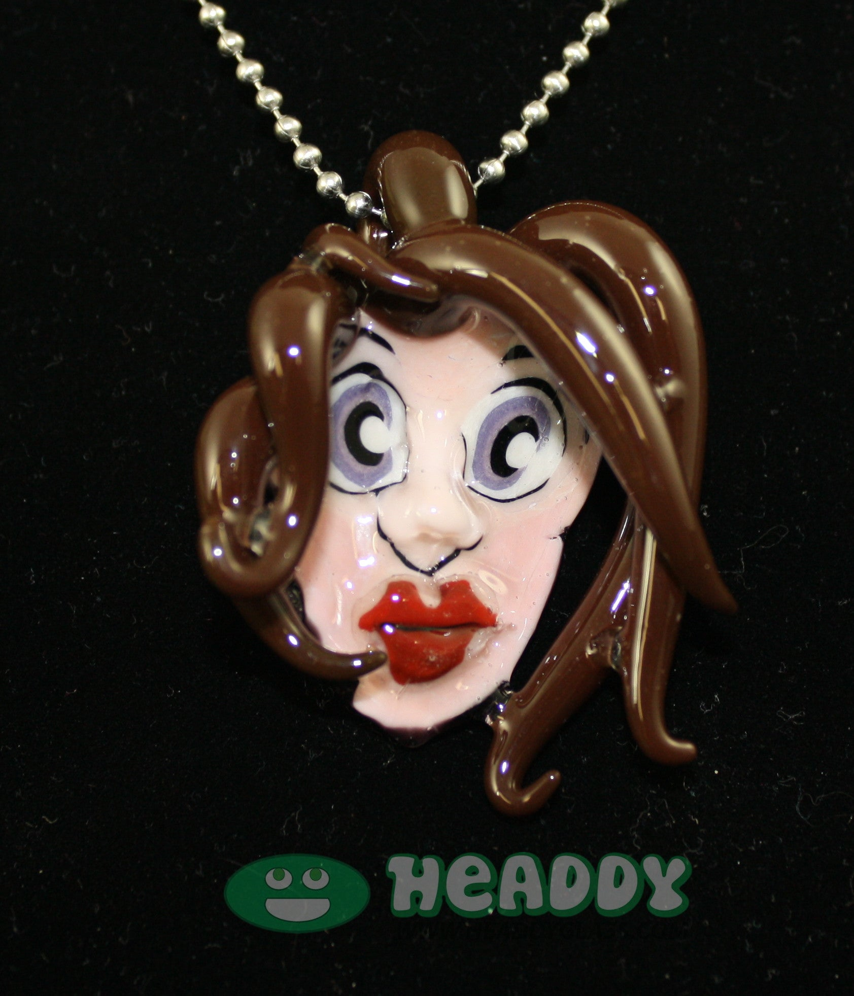Grimm 3D pendant #1 - Headdy Glass