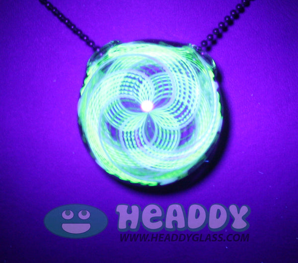 Koichi Yajima uv hollow pendant - Headdy Glass