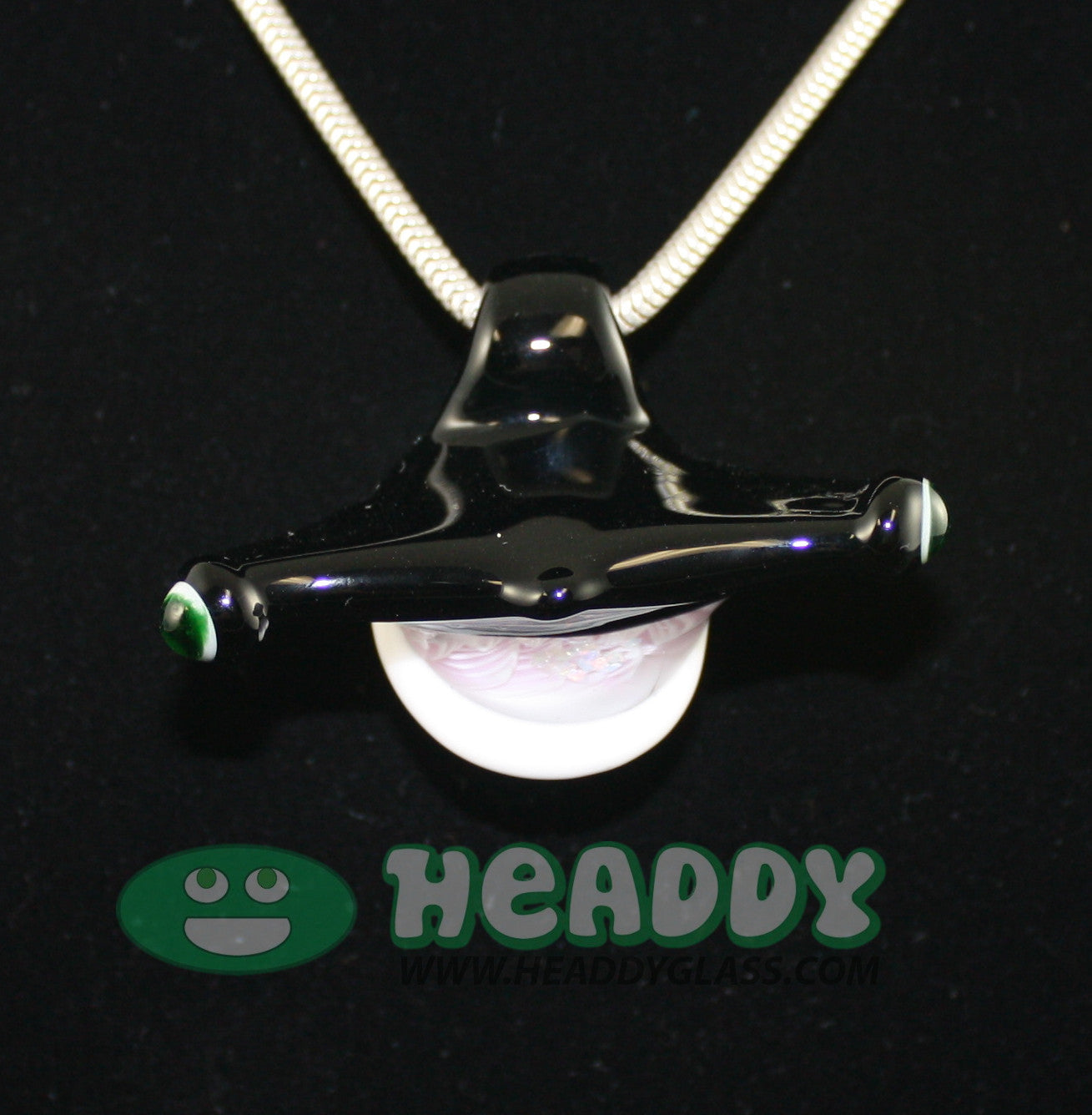 Jason Gordon pendant 2 - Headdy Glass