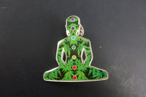Blazer Buddha pin - Headdy Glass