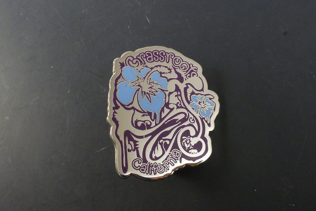 GRC tropical pin