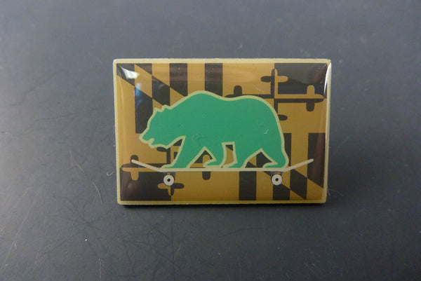 GRC bear pin - Headdy Glass