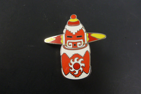 Clinton kachina pin - Headdy Glass