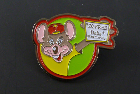 Chuck-E pin - Headdy Glass