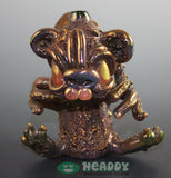 Casto bronze vapor rig - Headdy Glass