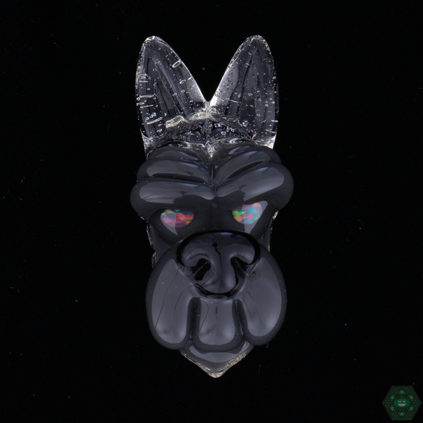 Ryan Kane Closed Mouth Wolf Pendants