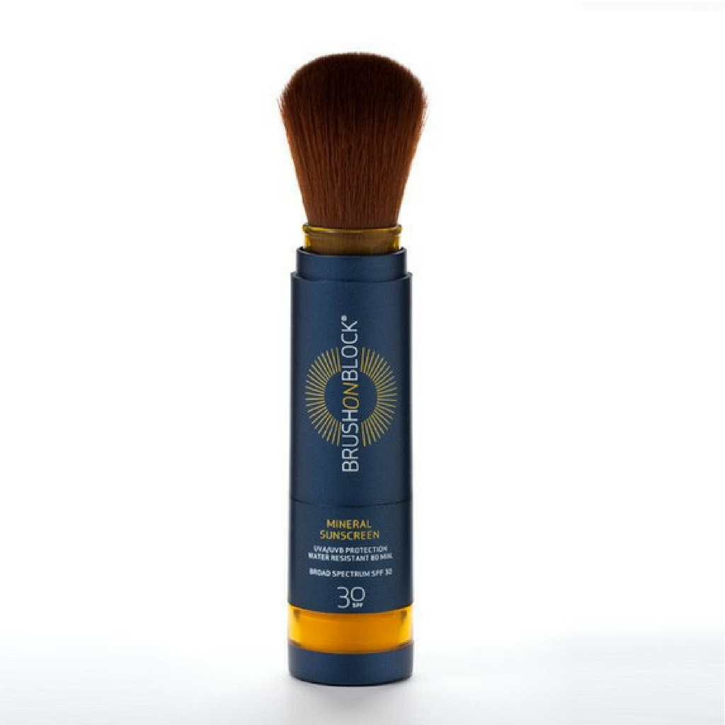 Brush on Block SPF 30 Mineral Powder Sunscreen Tan