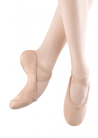 Bloch Canvas Split Sole Ballet Shoe (SO277)