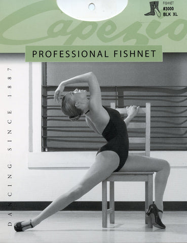 Capezio Professional Fishnet Tight