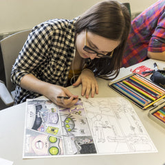 JULY 19 - 23: GRAPHIC NOVEL ONLINE INTENSIVE - AGRC 217 TOA