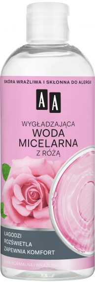 Micellar Water With Rose - 400 ml - Soothing