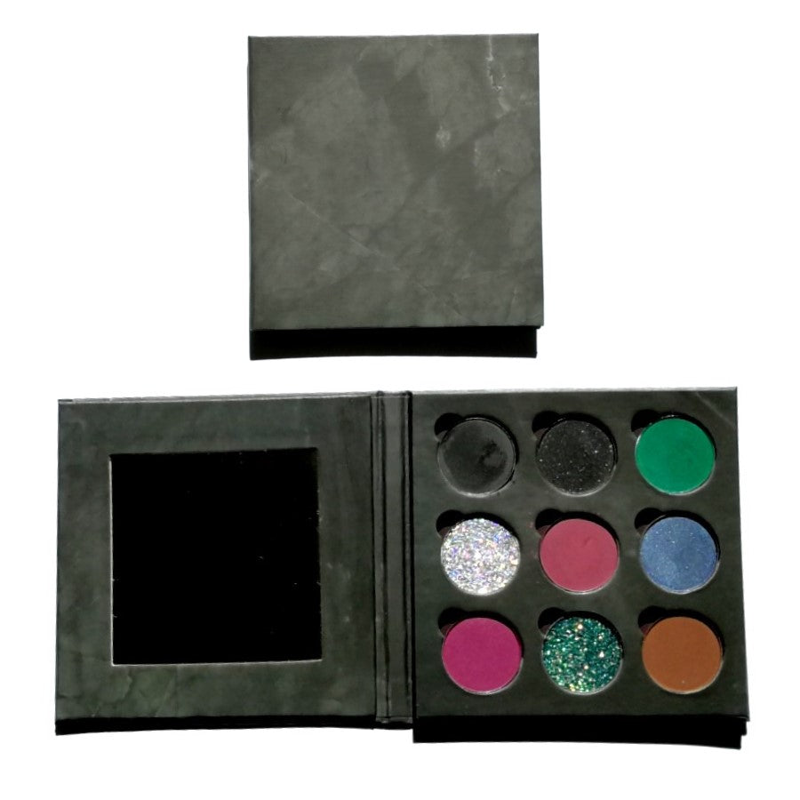 Glamore Cosmetics Queen Maleficent  9 Piece Eyeshadow Palette
