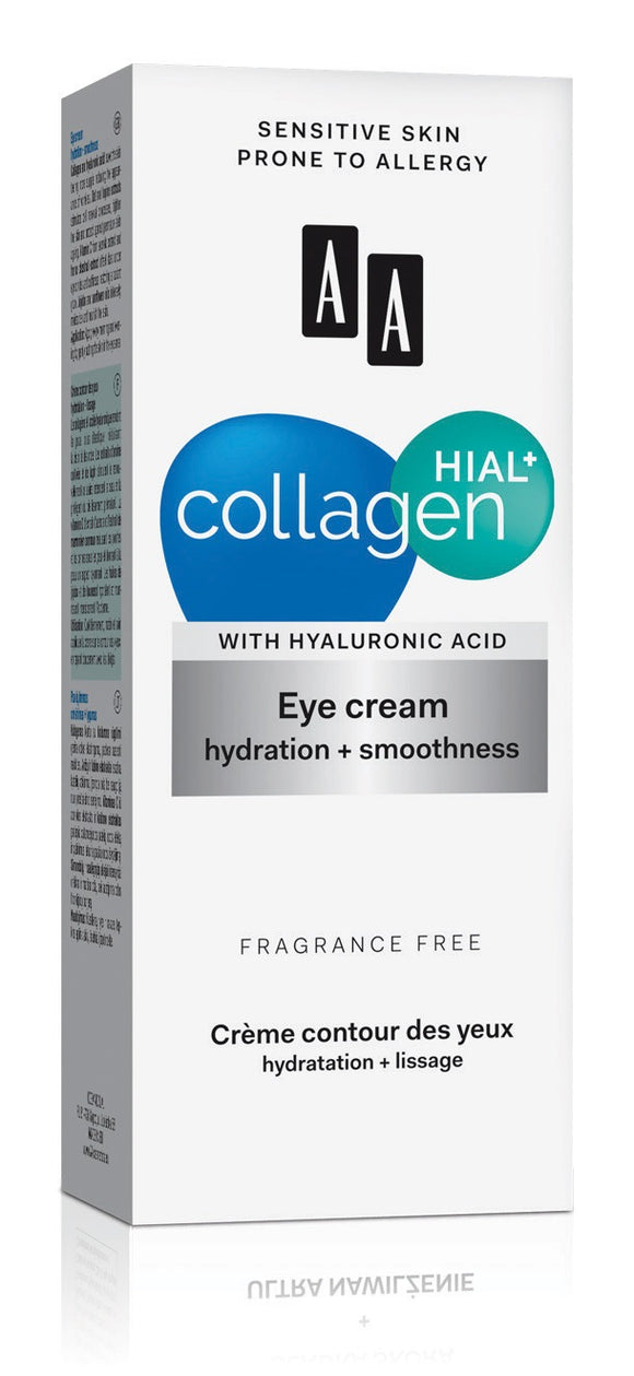 Collagen Hial + Moisturizing and Smoothing Eye Contour Cream (15 ml)