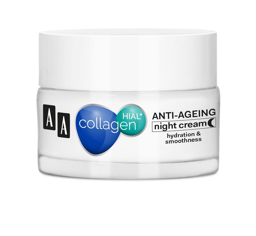 Collagen Hial + Smoothing and Regenerating Night Cream (50 ml)