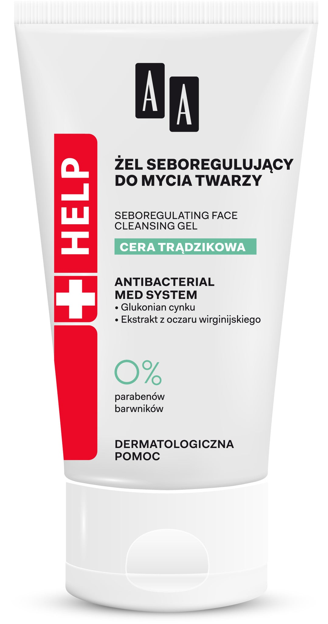 AA HELP Acne SeboRegulating Face Cleansing Gel 150 ml