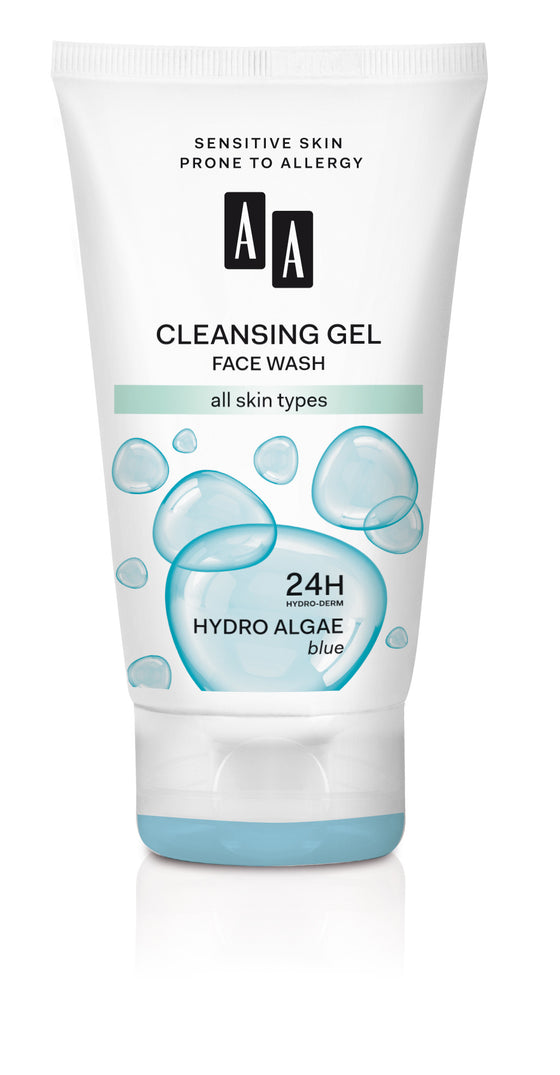 AA Hydro Algae Blue cleansing face wash for all skin types 150 ml