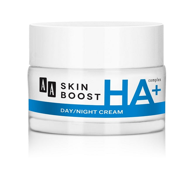 AA Skin Boost Day&Night Cream With Hyaluronic Acid - 50 ml