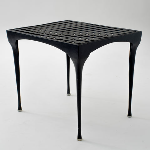 Single Dan Johnson 'Sol y Luna' Patio Side Table by Brown Jordan