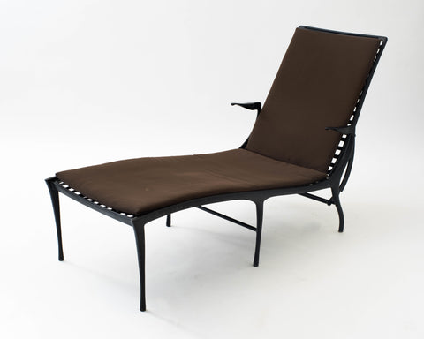 Single Dan Johnson 'Sol y Luna' Patio Chaise Lounge