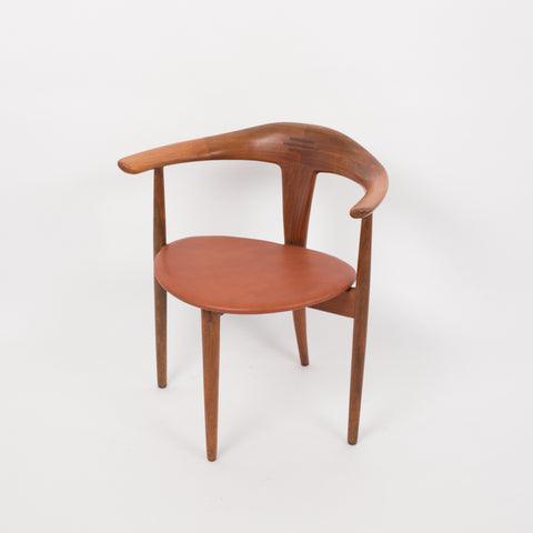 Single Teak Accent Chair by Pelle Pedersen and Erik Andersen for Randers/Moreddi